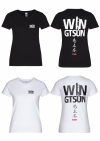 Streetwear Damen T-Shirt - WIN GTSUN Backprint