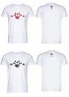 Streetwear Herren T-Shirt - Nostalgie weiss